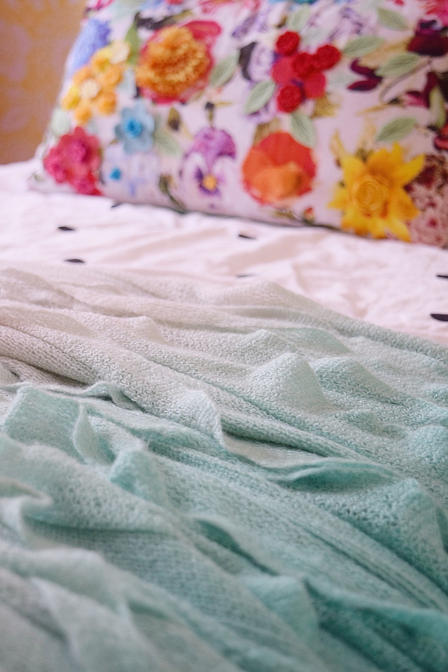 ombre throw blanket