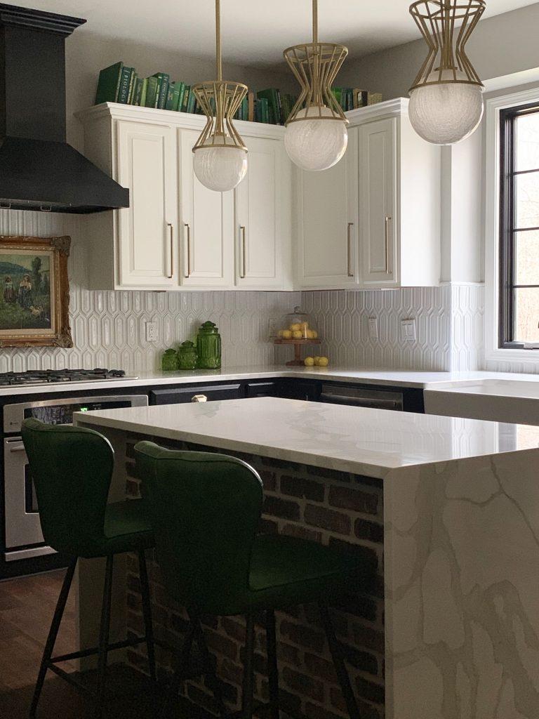 Kitchen Backsplash Reveal Haneen S Haven